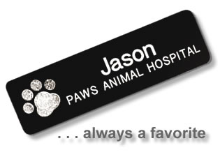 name tags name badges personalized custom plastic